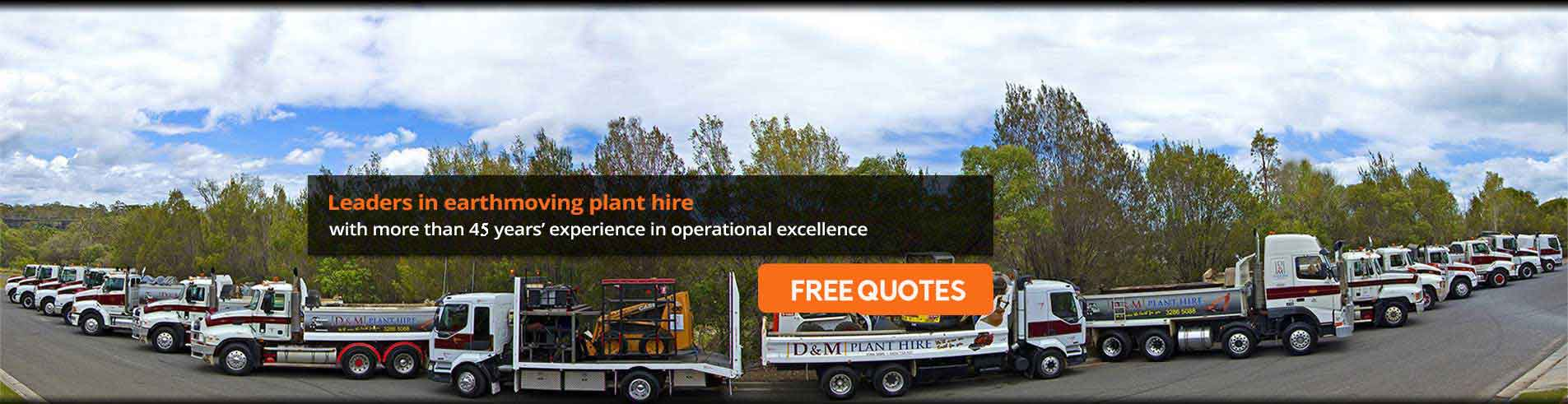 Earthmoving Plant Hire