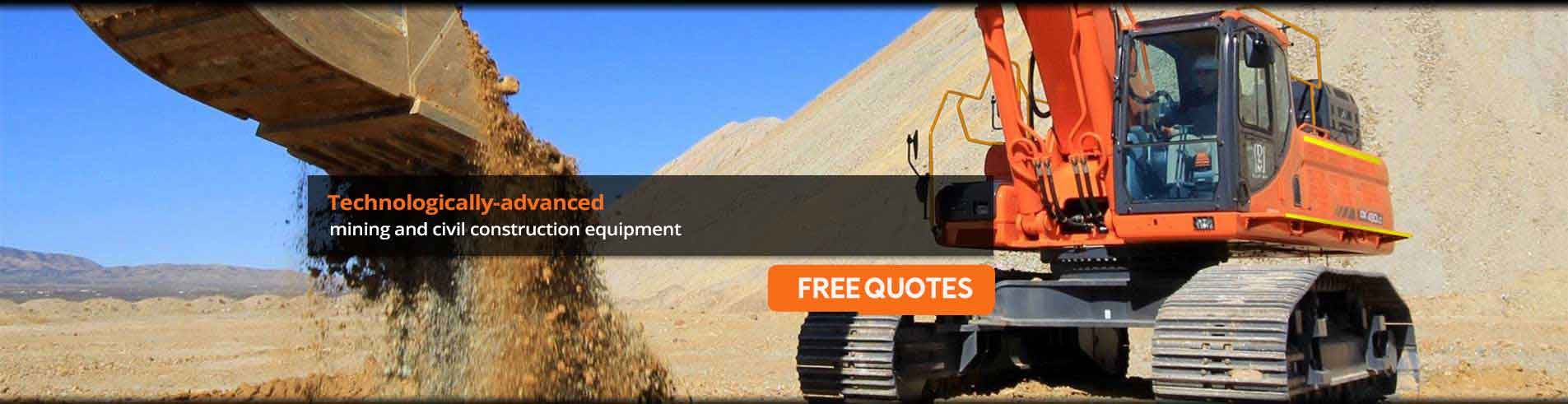 mining and civil construction equipment